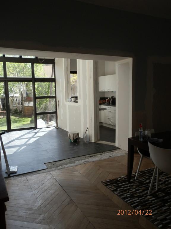 Selectravaux r novation et extension d 39 une maison du for Extension maison orleans